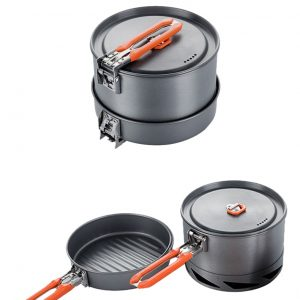 Camping Utensils Dishes Cookware Set Picnic