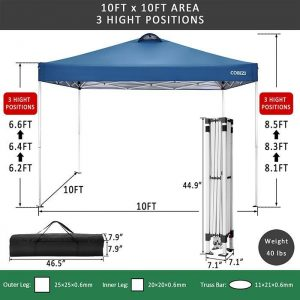 Right Angle Folding Shed Gazebos Tent