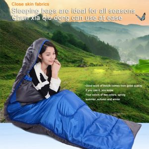 Outdoor Camping warm sleeping bag