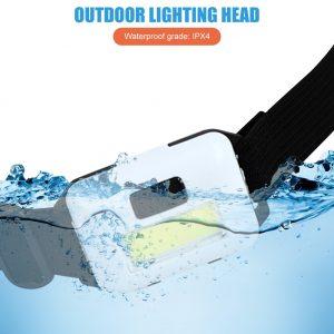 Mini COB LED Headlamp Camping Night Fishing