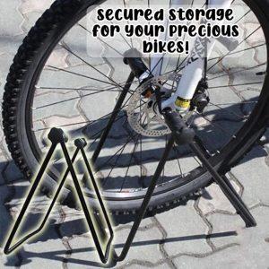Bicycle parking rack mountain bike display