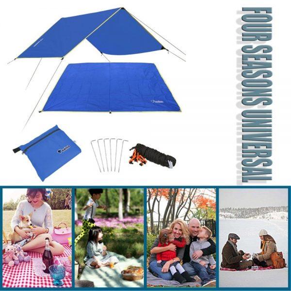 Waterproof Camping Mat Tent Tarp