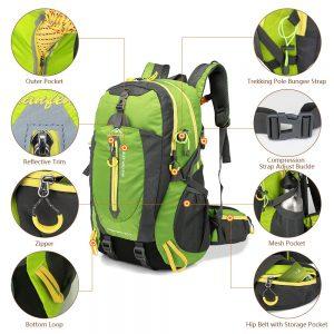 Rucksack 40L Outdoor Sports Bag Travel Backpack