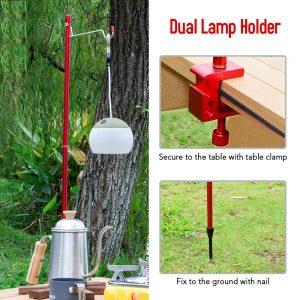 Tripod Lantern hanger Camping Lamp Bracket