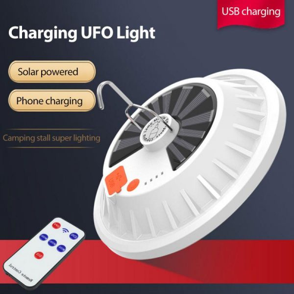 LED Bulb Lamp Remote Control Solar Charge
