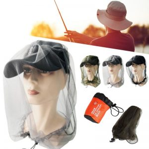 Camping Mesh Hat Head Face Protect Net Cover