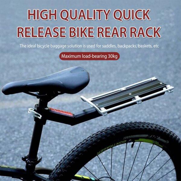 Bike Rack Luggage Carrier Quick Release Adjustable