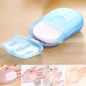 Camping Portable Disposable Soap Paper