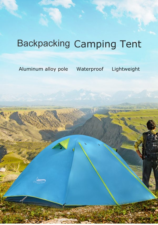 Lightweight Backpacking Camping Tent