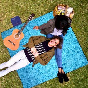 Extra Large Picnic Blanket Beach Mat Foldable