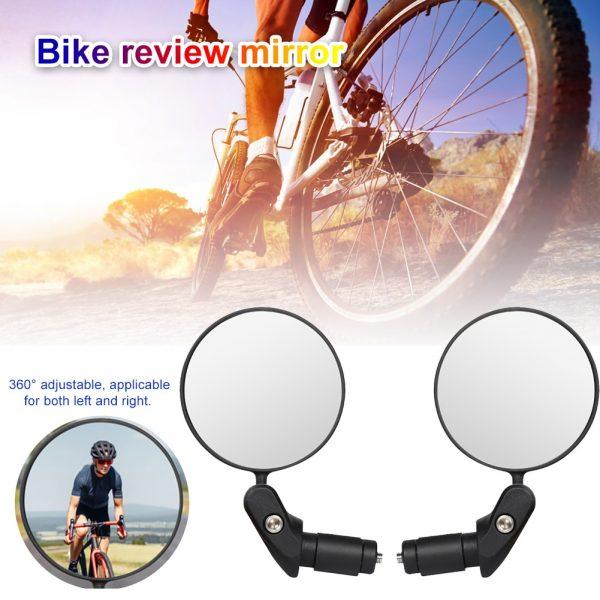 360 Rotation Bike Rearview Mirror