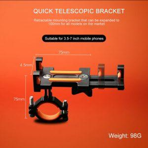 Bicycle Phone Holder 3.5-7 inch Smartphone Adjustable