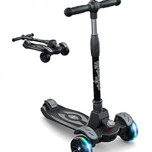 6KU Toddler Scooter for Kids 2-5 with Adjustable Height