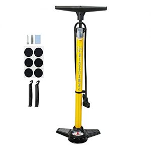 Bike Tire Pump with Gauge with High Pressure