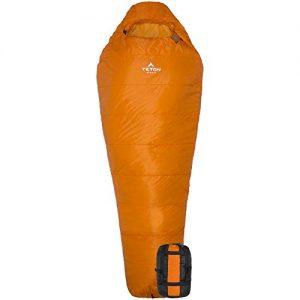 Camping, Hiking Altos Lightweight Mummy Sleeping Bag