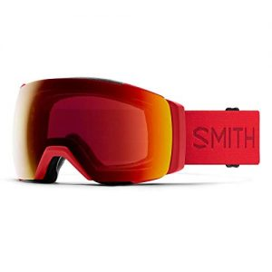 Asian Fit Snow Goggle Sun Red Mirror