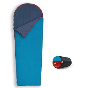 Lightweight Ultra Comfort Velour Fleece Sleeping Bag