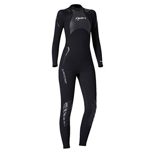 Long Sleeve Wetsuit Women One-Piece Snorkeling