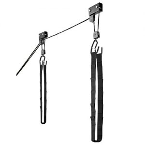 Overhead Pulley System with 125 lb Capacity for Kayak