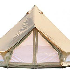 DANCHEL OUTDOOR 4-Season Waterproof Cotton Canvas Tent