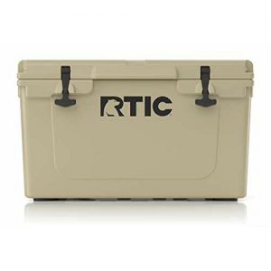 Hard Cooler Ice Chest with Heavy Duty Rubber Latches