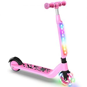 Kids Electric Scooter, Lightweight and 3 Adjustable Heights