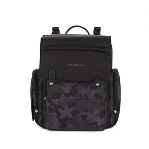 Camouflage Compass Diaper Bag Backpack