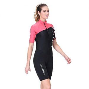 CapsA Short Sleeve Wetsuit Women Front Zip