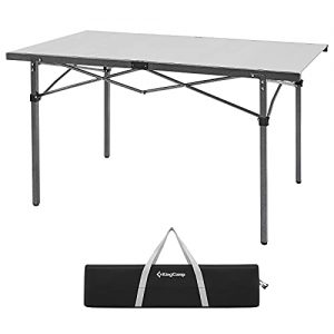 Aluminum Folding Portable Camping Table Roll up