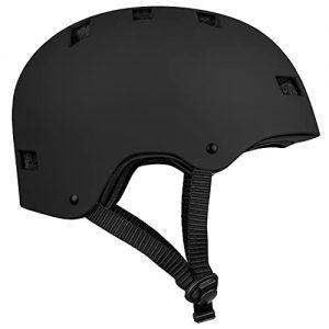Skateboard Helmet for Adult Commuter Matte Black