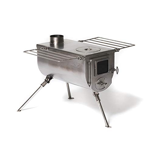 Portable Wood Burning Stove for Tents, Shelters, and Camping