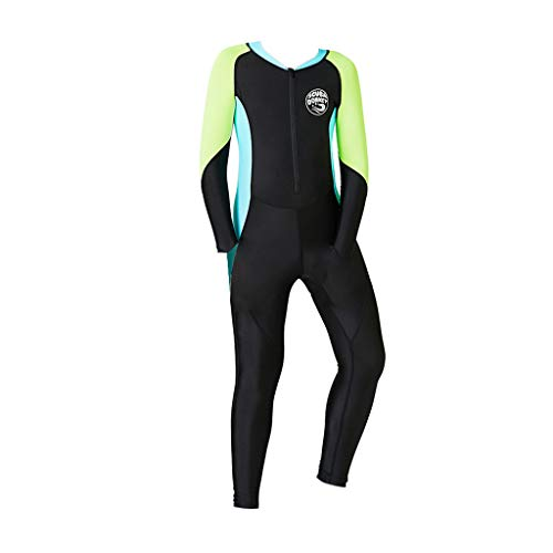 Kids Wetsuit Snorkeling Jumpsuit Short Sleeve Diving Suit