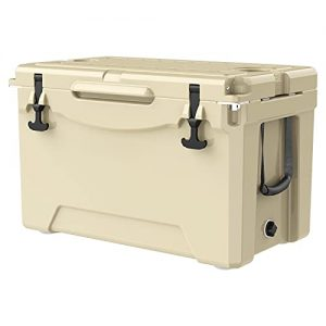 Portable Ice Chest Cooler with Bottle Opener