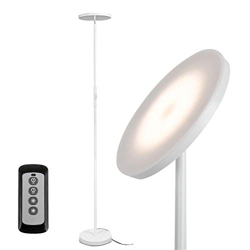 Super Bright Floor Lamps with Remote & Touch Control for Living Room