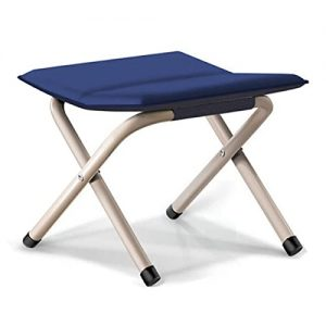 Camping, Hiking Portable Rest Upholstered Collapsible Stool