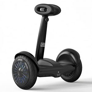 Self-Balancing Electric Scooter with Steering Bar