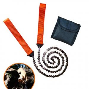 Chain Rope Portable Hand Saw With 48 Bi-Directional Teeth