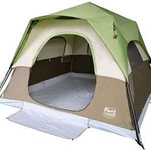 6 Person Instant Tent Portable Cabin Tent with Rainfly for Family Camping