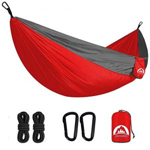 Double Camping Hammock Lightweight for Adults Kids Hiking Beach