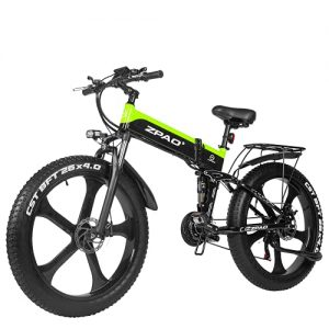 Motorcycle Snow Electric Bicycle and 21-Speed