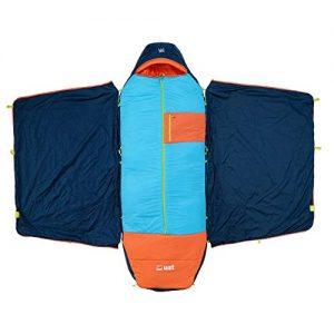 Monarch sleeping bag with temp control
