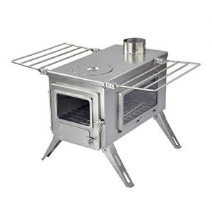 Portable Wood Nomad View Large Tent Stove