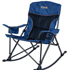 Padded Folding Rocking Chair Heavy Duty