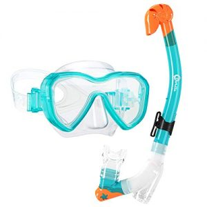 Kids Snorkel Set Snorkel Mask with Premium Dry Snorkel