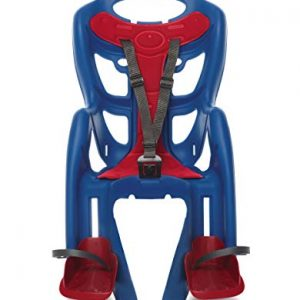 Red/Blue Mounted Baby Carrier