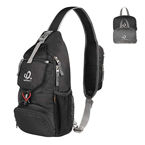 Packable Small Crossbody Sling Backpack