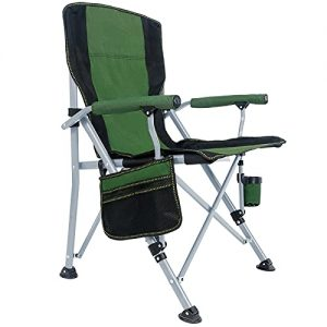 Folding Camping Chair 330 LBS Capacity Outdoor