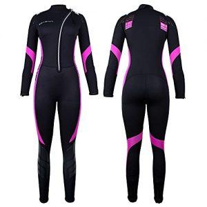 Neoprene Full Body Diving Suits Front Zip Wetsuit