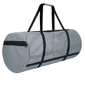 Dive Bag Mesh 100L Large Zipper Side Pockets