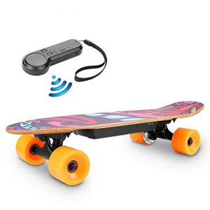 TEXXIS Mini Electric Skateboard with Remote
